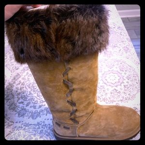 Tall Suede Ugg Boots